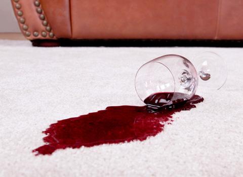 Bad carpet stain